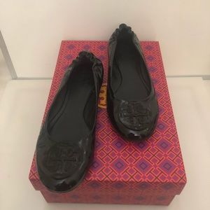🆕Tory Burch Genuine Patent Leather Ballet Flats